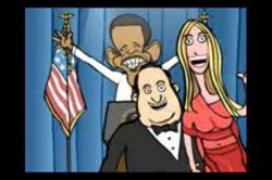 Image from a Mark Fiore cartoon