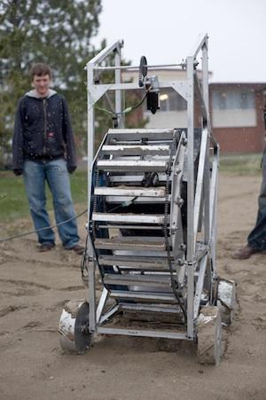 Montana MULE moon digger robot