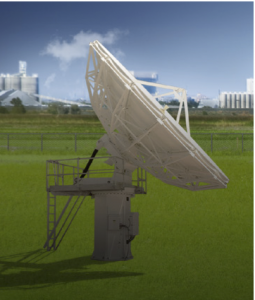 The Model VA-73-KA 7.3m Ka-Band satellite dish from ViaSat Inc.
