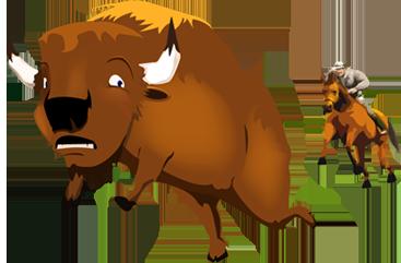 Buffalo hazing