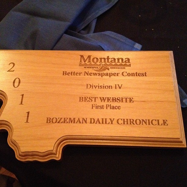 Chronicle's website named best in Montana by MNA