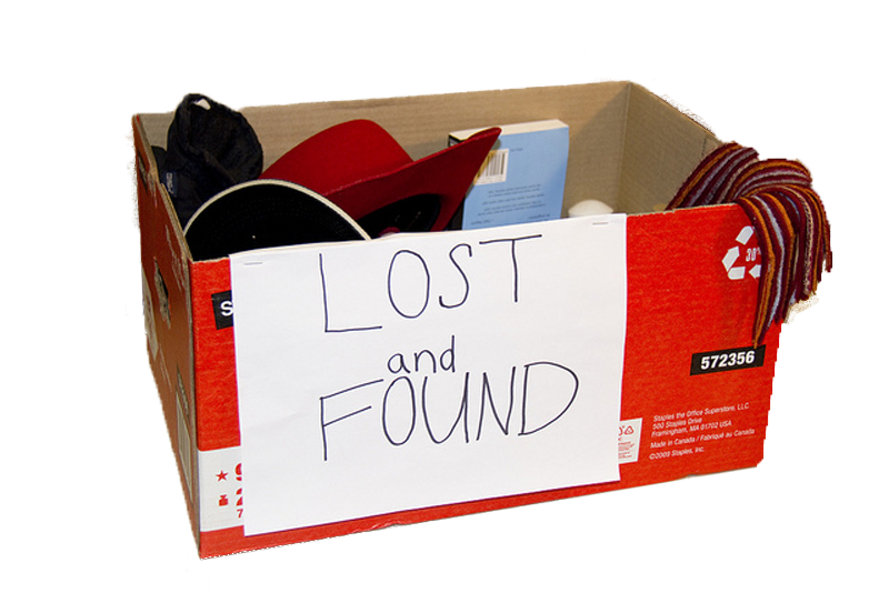 Photo Lost and Found Box by gorbould on Flickr