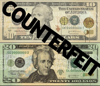 A counterfeit presentment…
