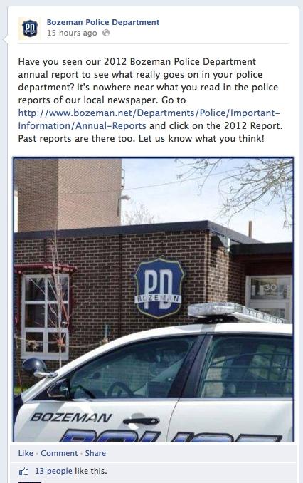 Police potshots